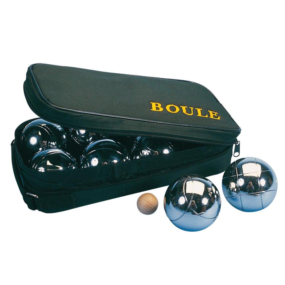 Senior Steel Boule Bowling Sports Set by Sportsgear US