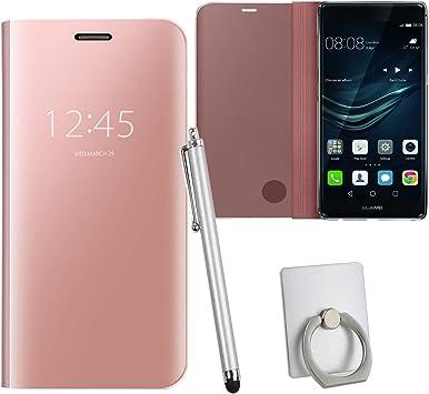 Guran® Mirror Efecto Espejo Funda para Huawei P9 Plus (5.5 ...