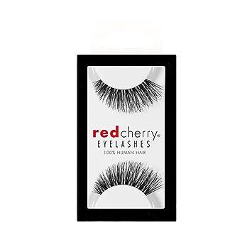 49ba417f43b Amazon.com : Red Cherry False Eye Lashes #43 (6 Pack) : Fake Eyelashes And  Adhesives : Beauty
