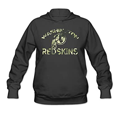 Duola Cool Washington Redskin Logo Women's Hoodie Black at Amazon  for cheap