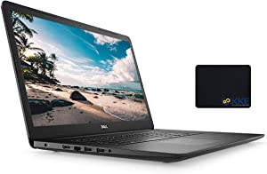 Dell 2020 Inspiron 3000 Series 17.3'' FHD Laptop, Intel I3-1005G1, 16GB DDR4 Memory, 2TB HDD, HDMI, WiFi, Webcam, DVD Drive, Win 10 Home, Black, KKE Mouse Pad