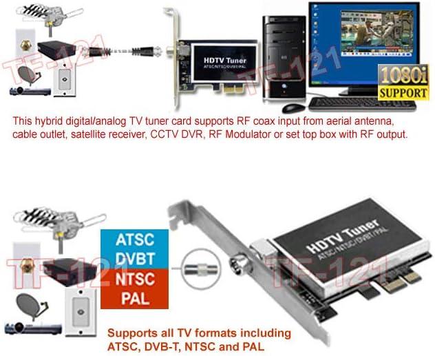 Digital ATSC Converter Receiver 8VSB Media USB DVB-C Clear QAM Cable TV Tuner