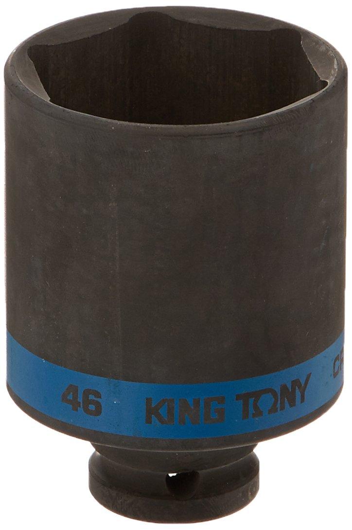 Schwarz 1//2/Zoll 46/mm king tony 443546/M 6-Point Drive Tiefe Schlag Stecknuss
