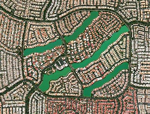 Desert Shores Community  Las Vegas  Nevada  Usa 500 Piece Awesome Aerial Photo Jigsaw Puzzle