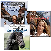 Modern Dressage Instrumental Music 3CD Bundle - Music To Ride To, Vol 63 Keep on Riding 14, Vol 55 Keep on Riding 13, Vol 47 Keep on Riding 12 - Horse Riding Freestyle Audio supported by Isabell Werth