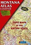 Montana Atlas and Gazetteer, DeLorme Map Staff, 0899332250