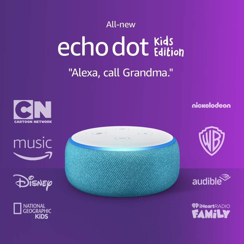 Echo Dot Kids Edition, an Echo designed for kids, with