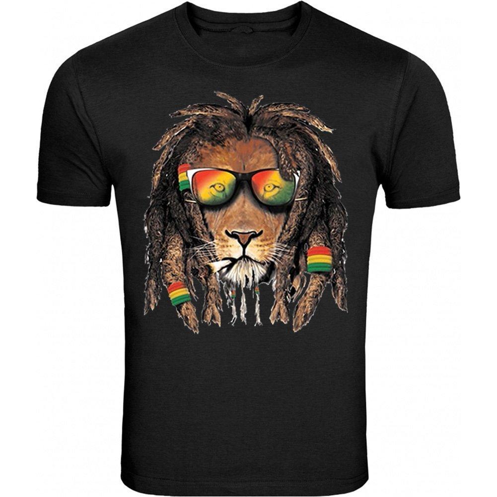 Bob Marley Smoking Joint T Shirt Rasta One Love Lion S 5 T Shirt