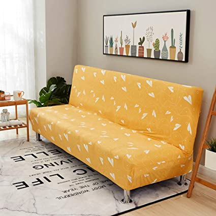 Awesome Amazon Com Msm Elastic Sofa Bed Covers Armless Couch Bralicious Painted Fabric Chair Ideas Braliciousco