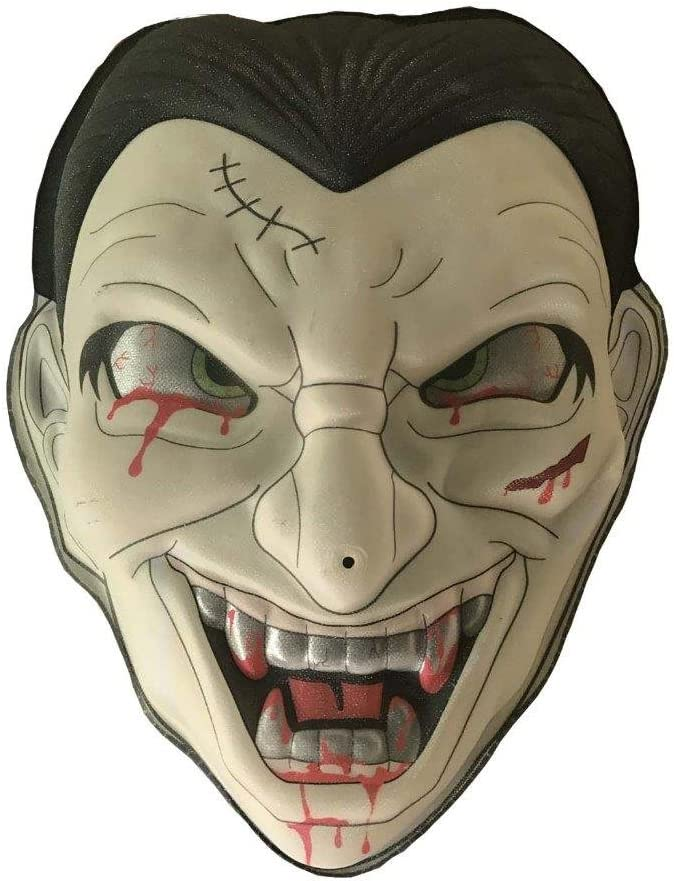 Lightahead Halloween Zombie Dracula Mask Hanging Light and sound battery operated Monster Face