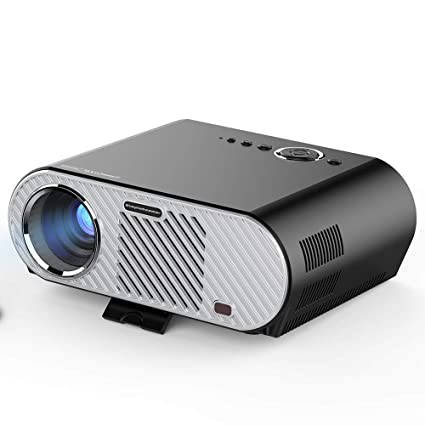 Amazon.com: ZJY Mini Projector 3200 Lumens Portable Video ...