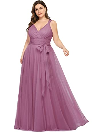 Plus Size Bridesmaid Dresses | Amazon.com