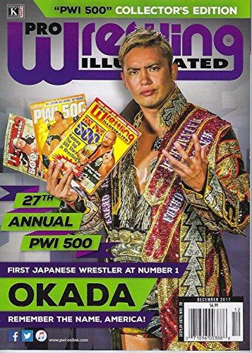 Pro Wrestling Illustrated December 2017 OKADA