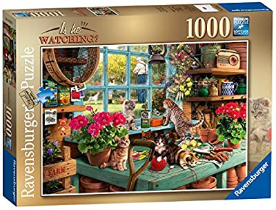 Ravensburger is he Watching? 1000pc Jigsaw Puzzle