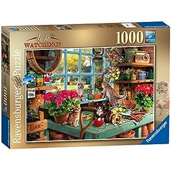 ravensburger cozy macaws 1000 piece puzzle. Black Bedroom Furniture Sets. Home Design Ideas