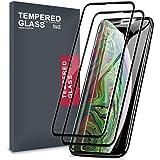 Meidom iPhone Screen Protector [2-Pack] di Friendly Copertura Completa e Vetro temperato Senza Bolle per iPhone
