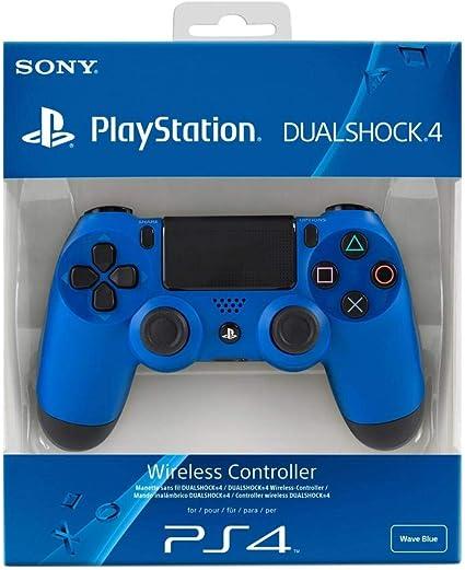 Sony - Mando Dual Shock 4, Color Azul (Playstation 4): Amazon.es: Videojuegos