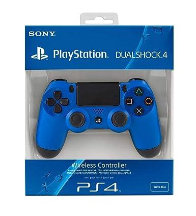 Sony Playstation Dualshock 4 Wave Blue Ps4 Amazon Co Uk Pc