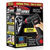 Air Hawk PRO Cordless Portable Air Compressor, Easy-To-Read Digital Pressure Gauge …