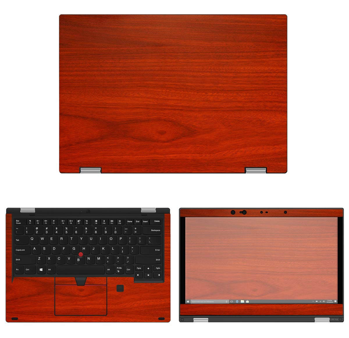 Amazon.com: Decalrus - Protective Decal Wood Skin Sticker ...