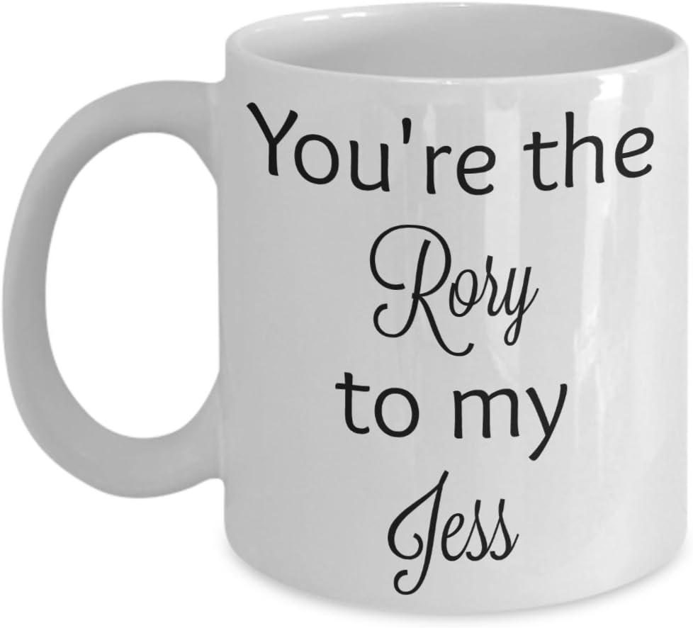 You're the Rory to my Jess coffee mug (11 oz, white)