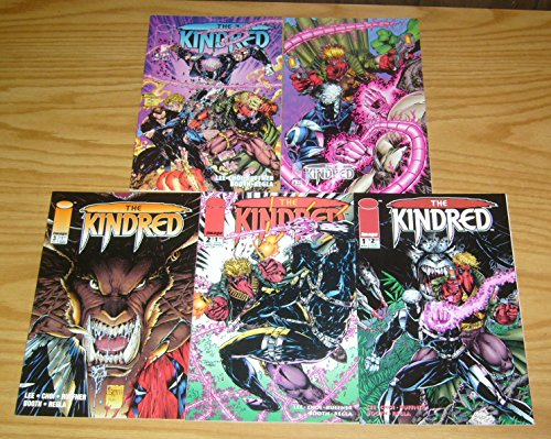 Kindred #1-4 + variant VF/NM; Image complete series