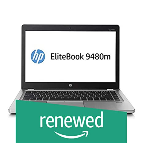 Renewed  HP EliteBook Folio 9480M Laptop  Core i5 4th Gen/4 GB/500 GB/WEBCAM/14''/DOS