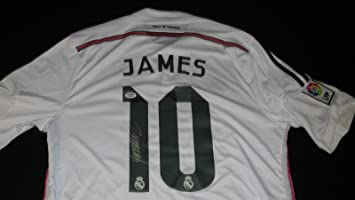 hot sale online 89d6e b85e4 James Rodriguez Signed Jersey Real Madrid - PSA/DNA ...