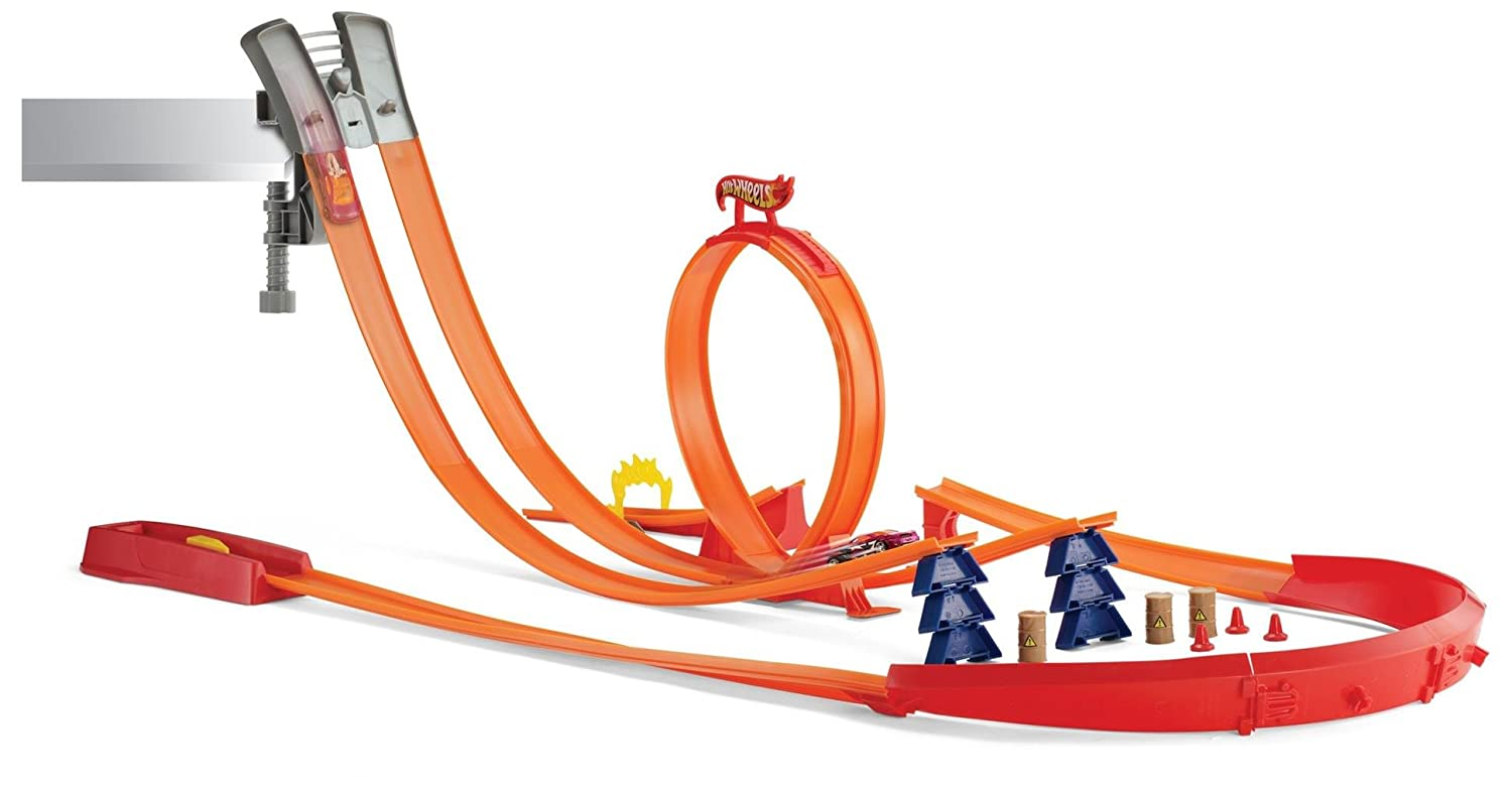 Hot Wheels Super Track Pack Play Set with 2 Cars Mattel Y0276