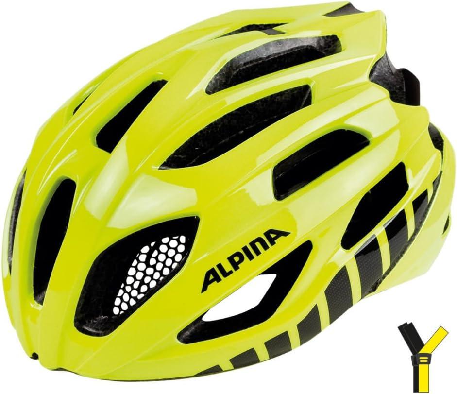 Alpina Fedaia Casque de vélo Mixte jaune