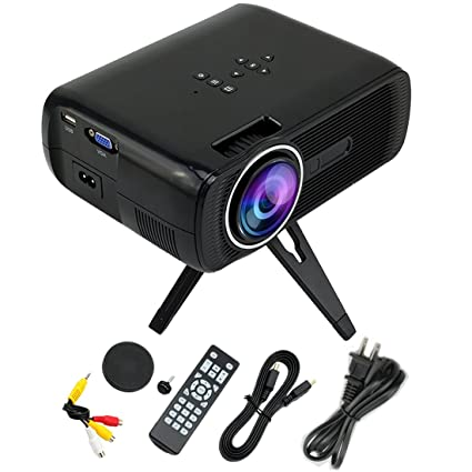 Mini Proyector Mejorado LED 1200 lúmenes 800*480 Resolución ...