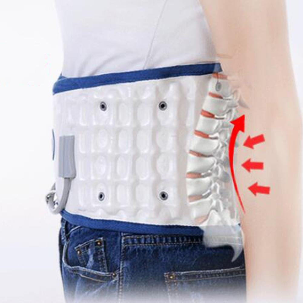 LPY-Lumbar Support Lumbar Disc Herniation Massager Spinal Air Traction Air Wave Back Belt , A by Waist support (Image #2)