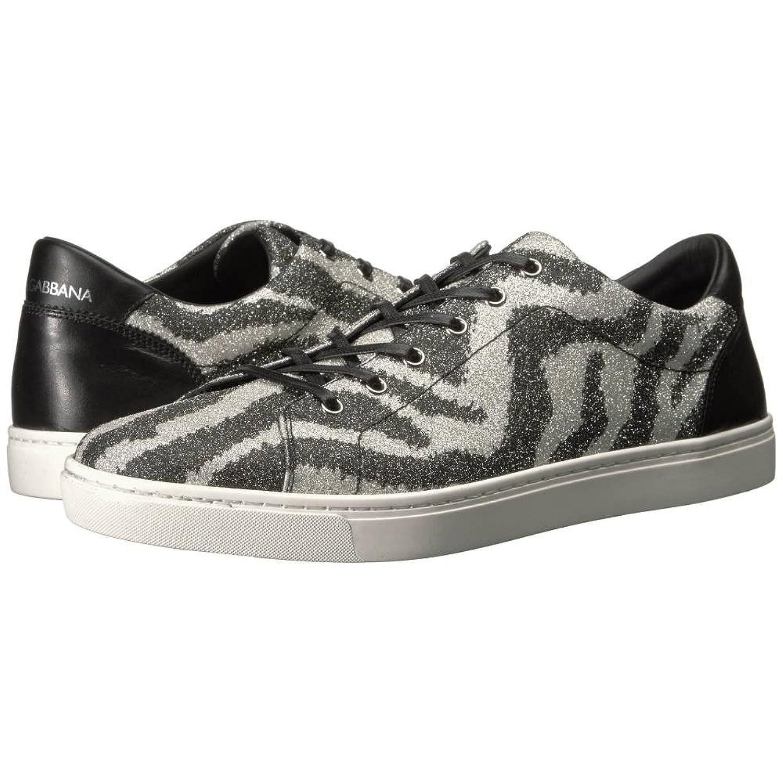 (ドルチェ&ガッバーナ) Dolce & Gabbana メンズ シューズ靴 スニーカー Glitter Zebra Sneaker [並行輸入品] B076JZK6VL