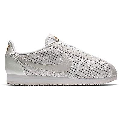 Zapatillas Nike - Cortez Classic Se PRM Blanco/Blanco/Dorado Talla: 38: Amazon.es: Zapatos y complementos