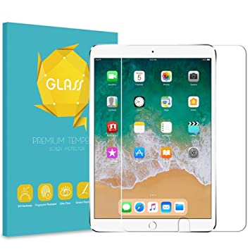 """HD Clear 9H Tempered Glass Screen Protector Anti-Scratch For 2017 iPad Pro 10.5/"""""""
