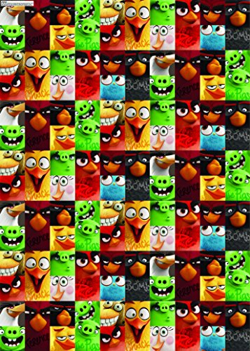 Gemma Angry Birds The Movie 4 Metre Giftwrap Roll