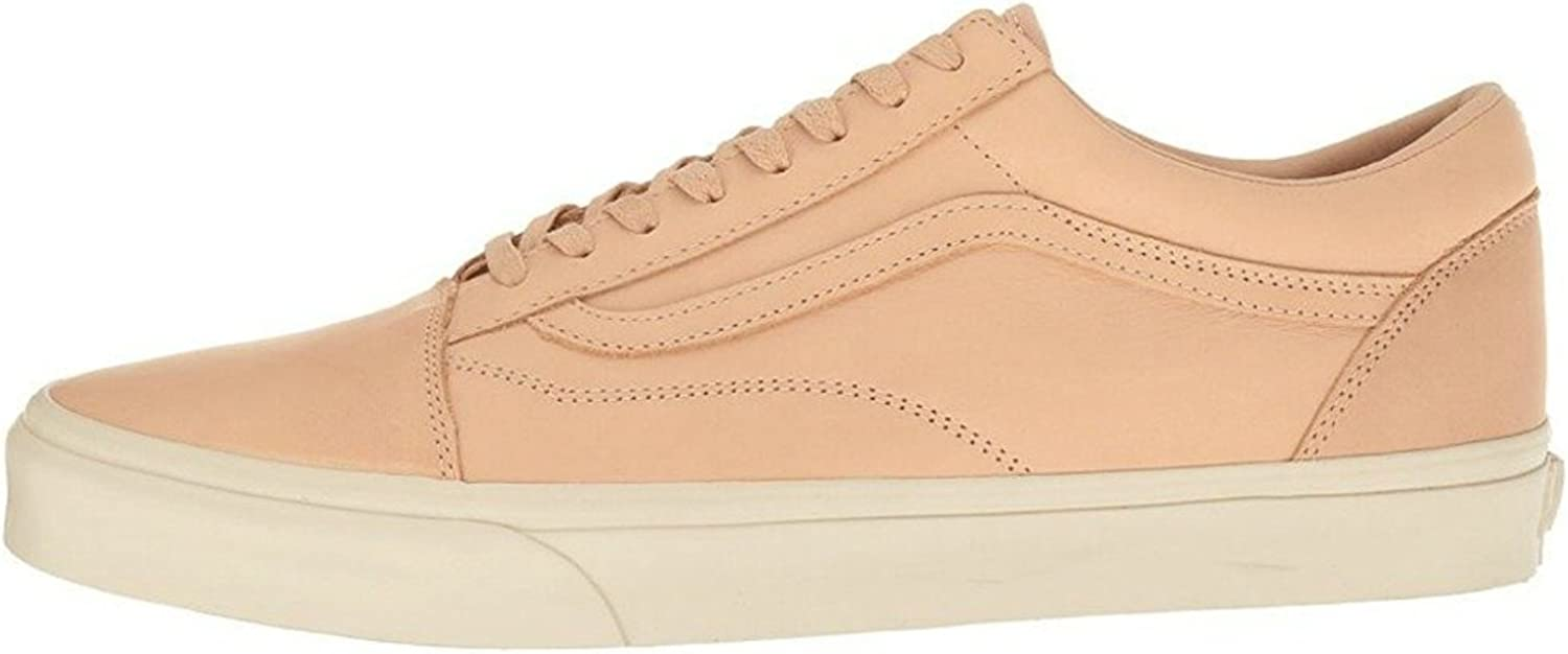 Vans Old Skool DX Mens Unisex Veggie Tan Leather Skateboarding Shoes