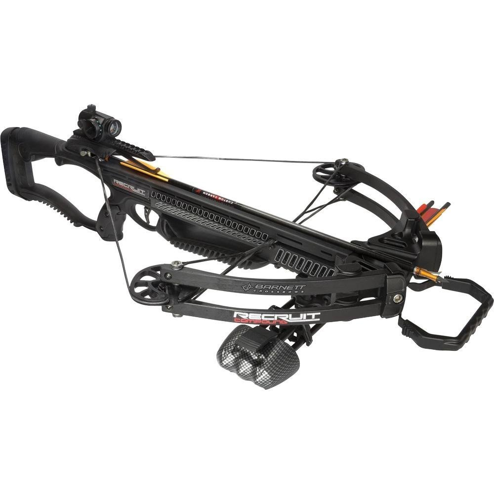 Barnett Recruit Compound Crossbow Package, Black by Barnett