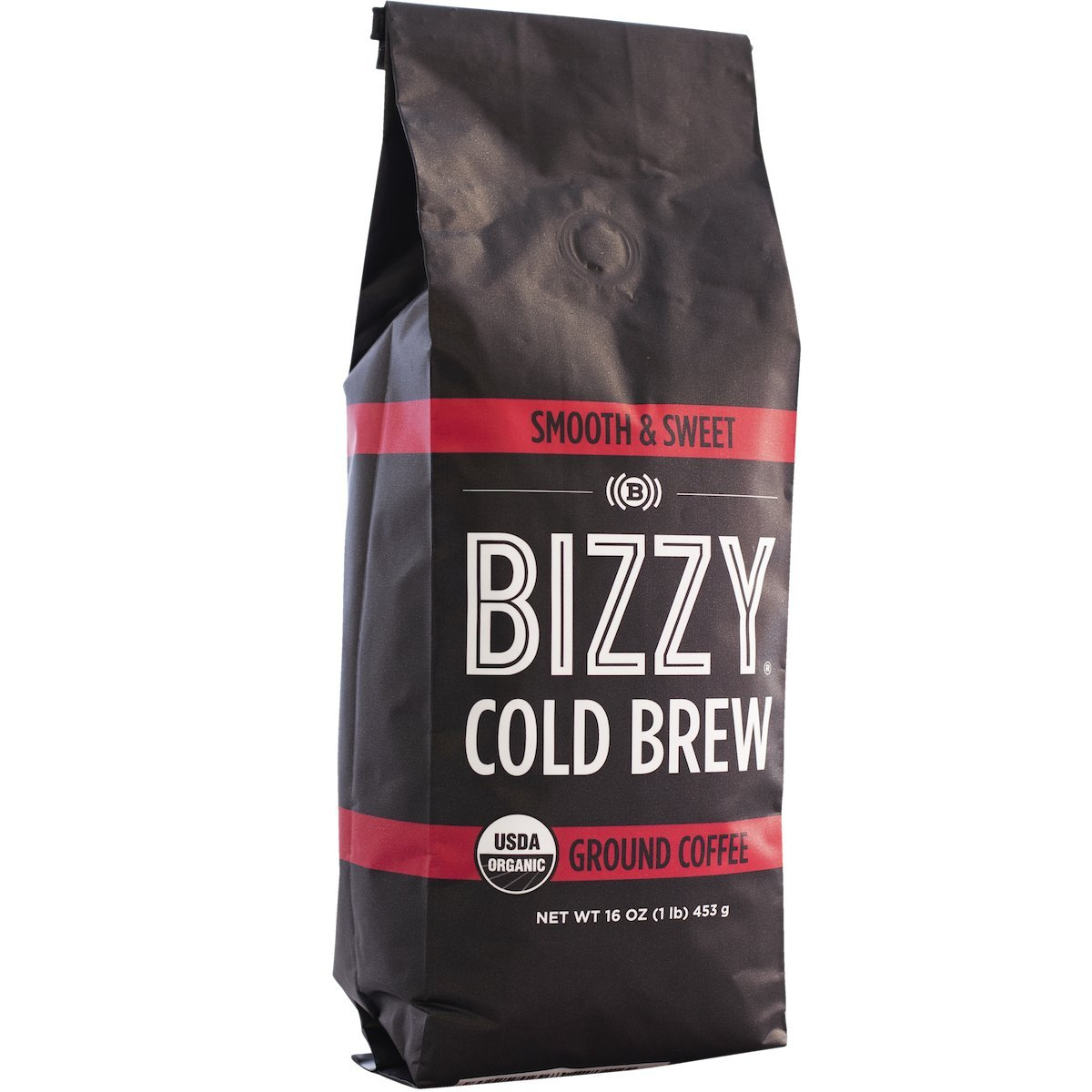 Bizzy Organic Cold Brew Coffee - Smooth & Sweet Blend - Coarse Ground Coffee - 1 Pound by Bizzy (Image #3)