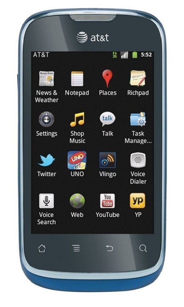 HUAWEI Fusion U8652 Unlocked GSM Phone with Android 2.3 OS, Touchscreen, 3.15MP Camera, GPS, Wi-Fi, Bluetooth, Radio and microSD Slot...