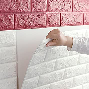 Buy European 3D Wall Stickers Wall Brick Pattern Self Adhesive