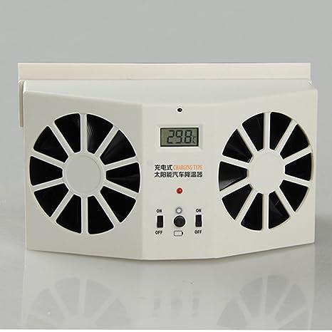 Mini-Klimaanlage K/ühlventilator SYN Solarventilator Dual-Auto-Heizk/ühler