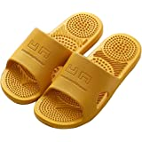 SHIBEVER Shower Bathroom Slipper Acupressure Massage Sandals for Women Non-Slip Massage Shoes Quick Drying Bath Shower…