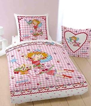 Prinzessin Lillifee Bettwäsche Cherry 135 X 200 Cm 80 X 80 Cm Neu