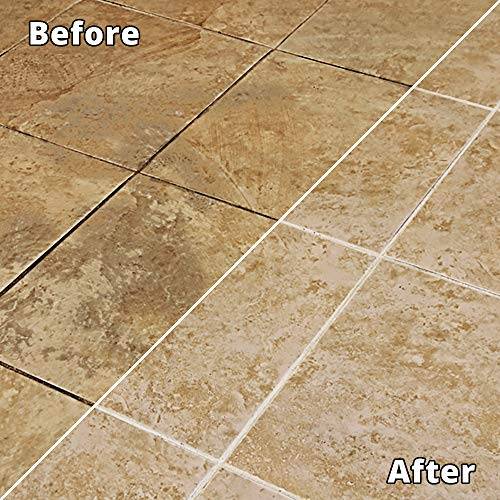 Rejuvenate Non-Toxic Bio-Enzymatic Safe and Scrub Free Tile and Grout Cleaner Lightens and Brightens Every Time (32oz)