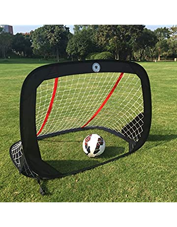 c3abcd9e8 WisHome 4FT Foldable Children Pop-Up Play Goal for Outdoors Portable Square Soccer  Goal with