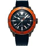 Alpina Men's Seastrong Diver Titanium/Stainless Steel Swiss Quartz Diving Watch with Rubber Strap, Blue, 22 (Model: AL-247LNO