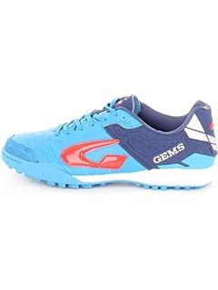 ec5e441849309 GEMS Viper FX Scarpe Calcio A 5 Outdoor Turf 008TF18 Blu Azzurro (42 ...