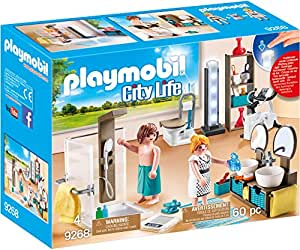 Playmobil casa moderna ba o multicolor 9268 for Casa moderna playmobil 6784