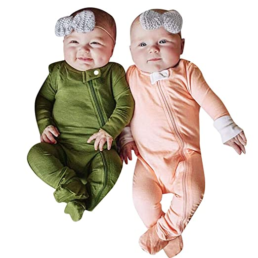 005edf9b2 Amazon.com  Infant Baby Toddler Boys Fall Winter Snowsuit Jumpsuit ...